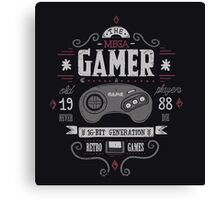 Mega gamer Canvas Print