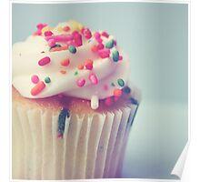 Cute Cupcake Photo Poster