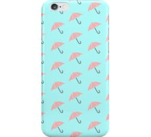 Umbrella Pattern iPhone Case/Skin