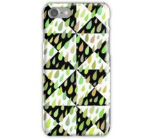 Rainy Day Pattern. Quilted version. iPhone Case/Skin