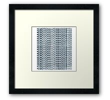 #Emotionally Damaged By TV on Repeat Framed Print