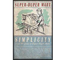 Fallout Super-Duper Mart Photographic Print