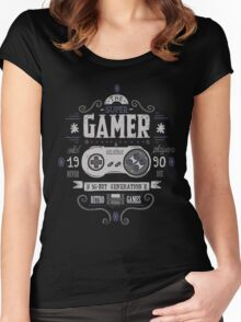 Super gamer Women's Fitted Scoop T-Shirt