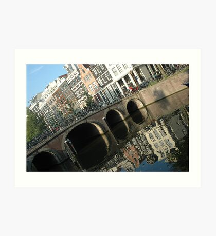 Archs on the bridge Art Print