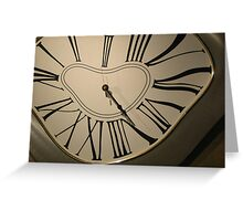 Time Warp Greeting Card