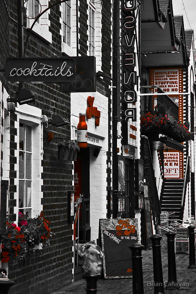 Ashton Lane Red by Brian Canavan