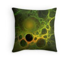 """Moldy Swiss"" Throw Pillow"