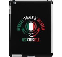 Gennady Golovkin - Mexican Style (Non-Letterpress) iPad Case/Skin