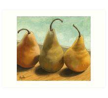 The Three Graces - fruit still life Art Print