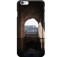 Through an arch at the Colosseum  iPhone Case/Skin