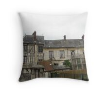 Road to Giverny Throw Pillow