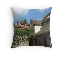Road from Giverny 2 Throw Pillow