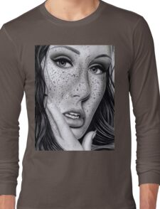 Freckled Up Long Sleeve T-Shirt