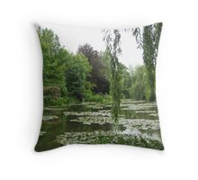 Giverny 1 Throw Pillow