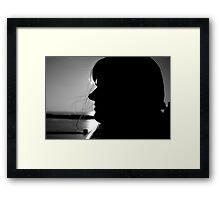Peaceful Voyage Framed Print