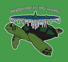 Discworld - welcome to my world Kids Clothes