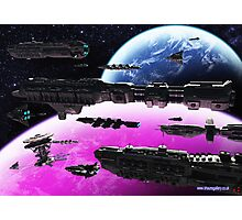 Fleet Maneuvers Photographic Print
