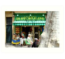 South of France Crafts Boutique Art Print
