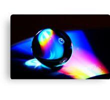 Gel ball on DVD Canvas Print