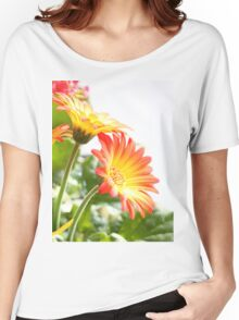 Two Flowers Women's Relaxed Fit T-Shirt