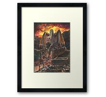 Saurian Sanctuary Framed Print
