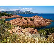 Cap Esterel France Photographic Print