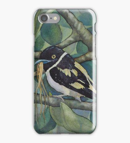 Black and Yellow Broadbill iPhone Case/Skin