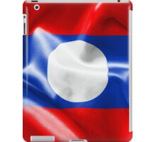 Laos Flag iPad Case/Skin