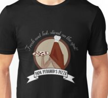 Papa Pyramid's Pizza Unisex T-Shirt