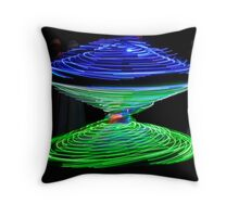Whirling Dervish of Egypt Throw Pillow