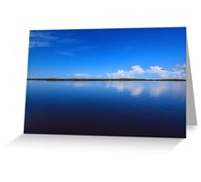 calmness over Chokoloskee Bay Greeting Card