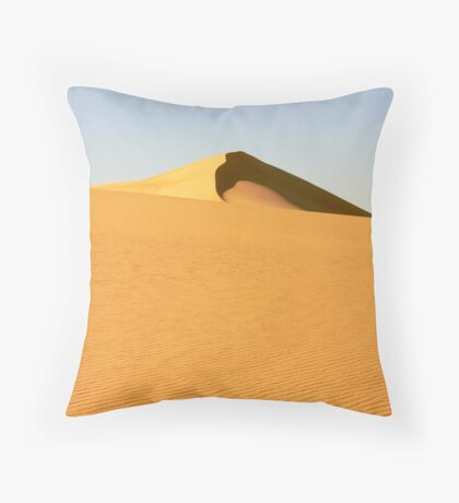Siwa Egypt Desert Dune Throw Pillow