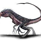 Sabertooth Raptor by Austen Mengler