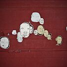 Floating Heads - 1 - Installation by Augustine Cordero