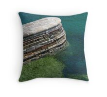 Harbour Wall Throw Pillow