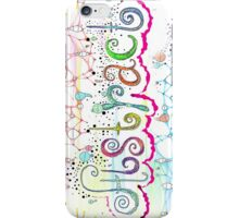 Think Abstract iPhone Case/Skin