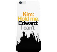 Edward Scissorhands Quote iPhone Case/Skin