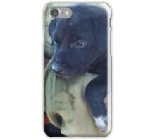 Puppy - Mahabalipuram, India iPhone Case/Skin