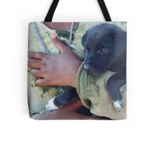 Puppy - Mahabalipuram, India Tote Bag