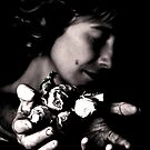 Girls and Roses by Etienne RUGGERI Artwork eRAW
