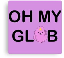 OH MY GLOB Canvas Print