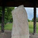 Rune Stone of the 9th Century by HELUA