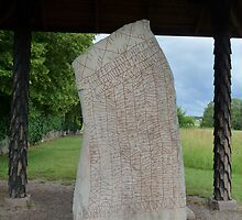 Rune Stone of the 9th Century by HELUA