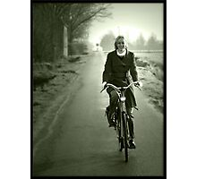 Gone for a ride. Photographic Print