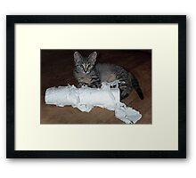 Paper Shredder Framed Print