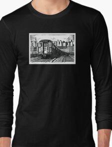 New York Subway Train Long Sleeve T-Shirt
