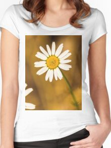 Daisy1 Women's Fitted Scoop T-Shirt