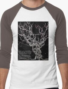 TOLKIEN art Lord of the Rings by Angieclementine Men's Baseball ¾ T-Shirt
