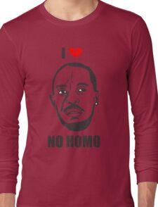 I *HEART* OMAR - 'NO HOMO' Long Sleeve T-Shirt