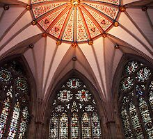 Ceiling, York Minster by Theresa Elvin
